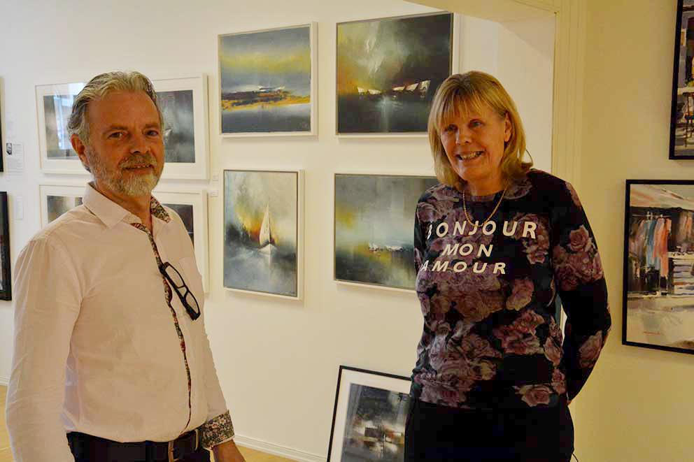 Galleriet som satsar på modern konst Värnamo