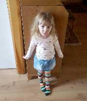 Maya Karlsson 4 år