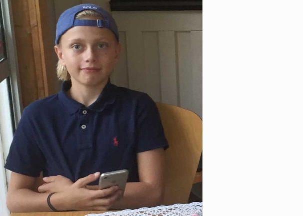 Noah Svensson 12 år