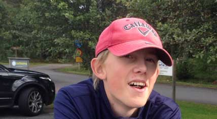 Rasmus Robertsson-Holm 15 år