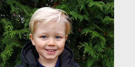 Morris Sandberg 4 år