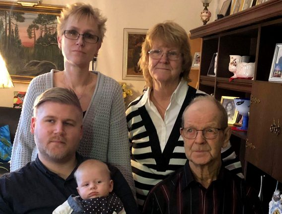 Fem generationer