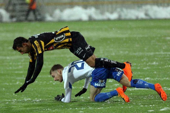 Bilder från IFK-mötet med Häcken