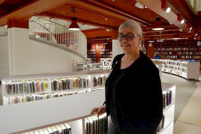Första bilderna från nya biblioteket