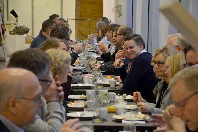 Frukostmöte på Vandalorum