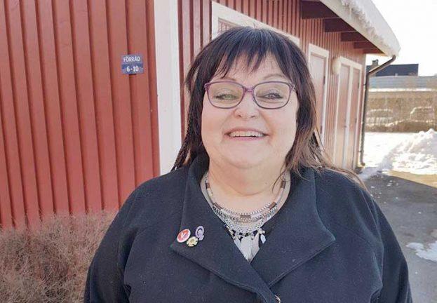 Erica ny ordförande för (V)-distriktet