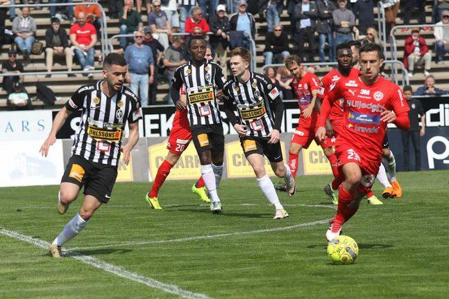 Rapport, Landskrona–IFK: slut 4–0