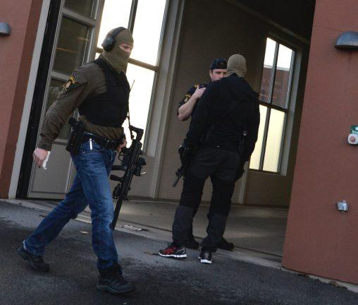 Misstänkt för skjutningen inte psykisk störd