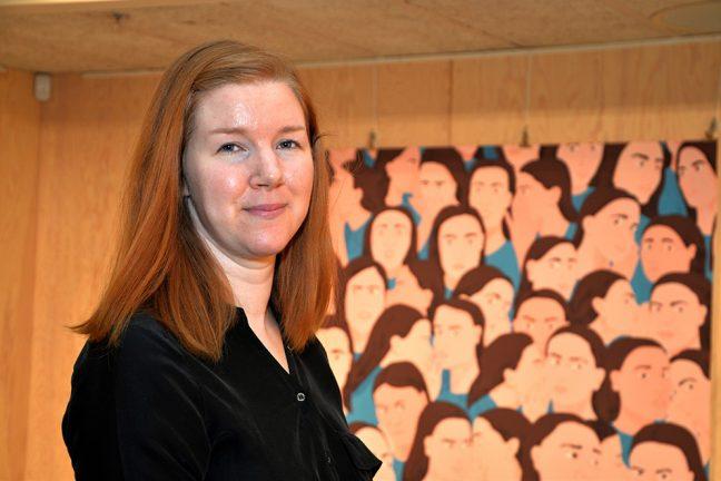 Sanna Borell i Blickfånget