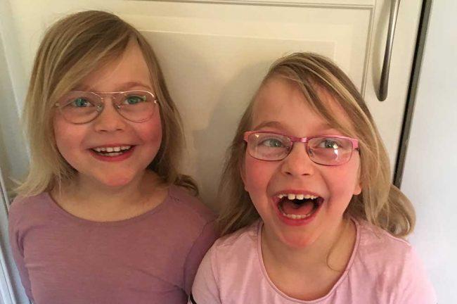 Tilde och Emma 7 år