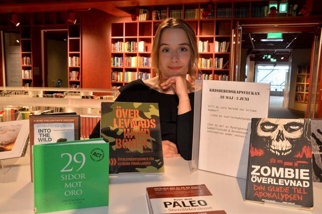 Biblioteket laddar för överlevnad