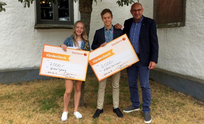 Lions delade ut stipendium i Forsheda