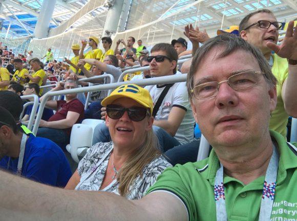Värnamo och Skillingaryd bidrog till VM-segern