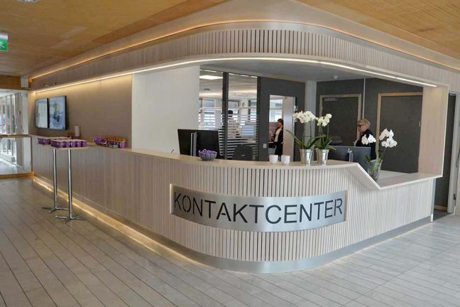 Kommunens nya kontaktcenter invigdes i dag