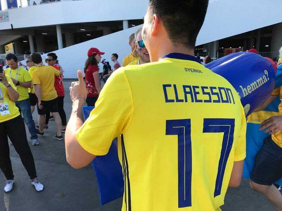 Vi som älskar Claesson blev nöjda