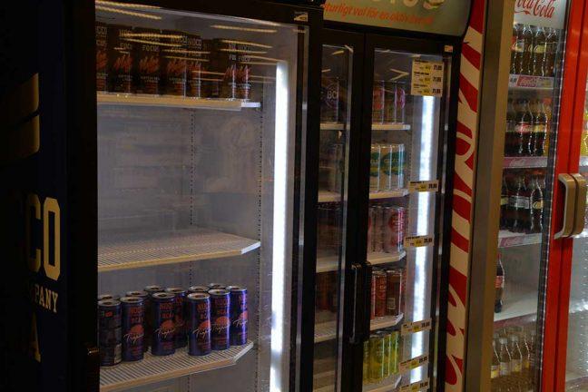 Fläktar och dricka storsäljare i Värnamo