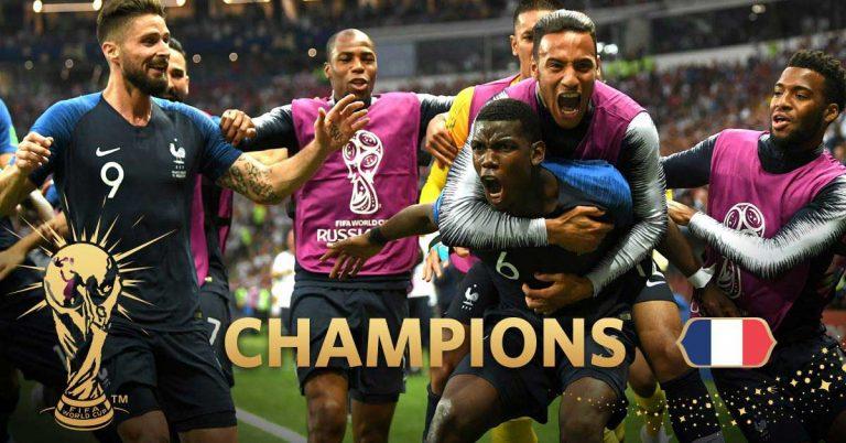 Frankrike är världsmästare