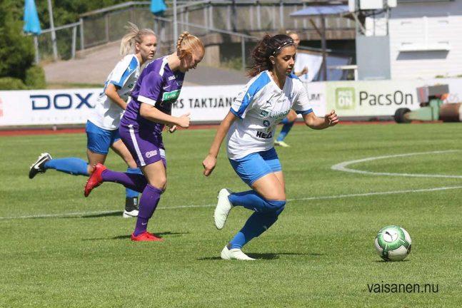 IFK-dam stod upp bra