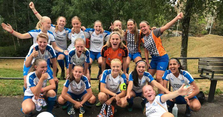 Bragdseger för IFK-tjejerna