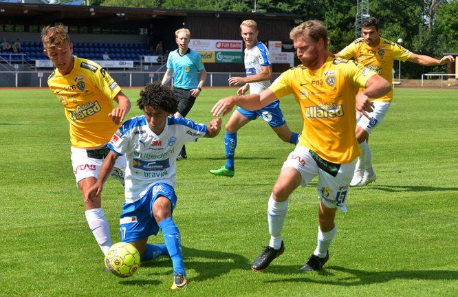 Vi rapporterar Falkenberg – IFK Värnamo – slut 3–0