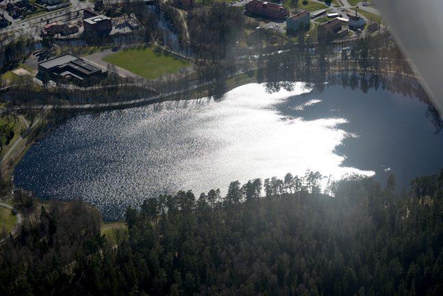 Kyrkogården påverkar inte Prostsjön