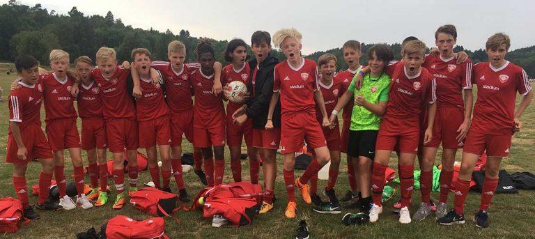 V-Södra vann över engelskt lag