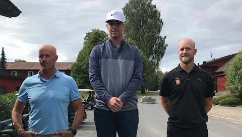 Adam Bengtsson klubbmästare på Hooks GK