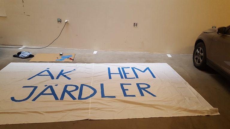 Klackens hälsning till Järdler