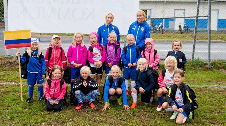 360 barn på IFK:s fotbollsskola