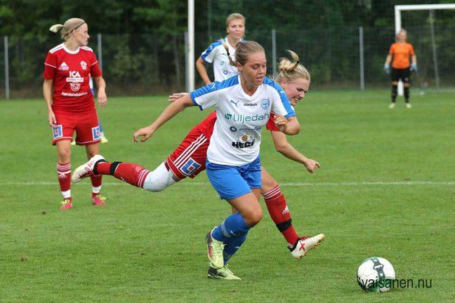 Bildspel: IFK-damerna  vann med 2-0