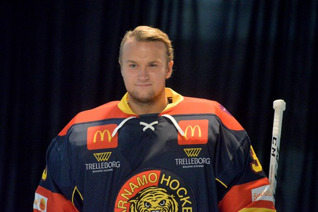 Albin Hakelid klar för VGIK