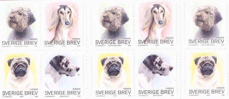 Hundar och frimärken