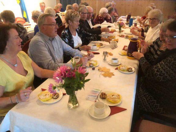 Månadsmöte hos SPF-pensionärerna