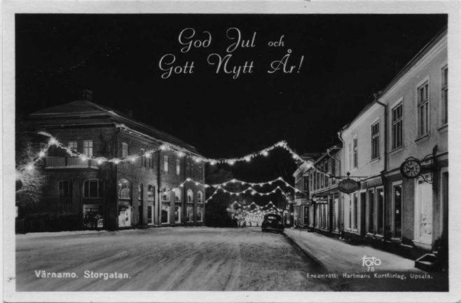 Ny julbelysning till Värnamo