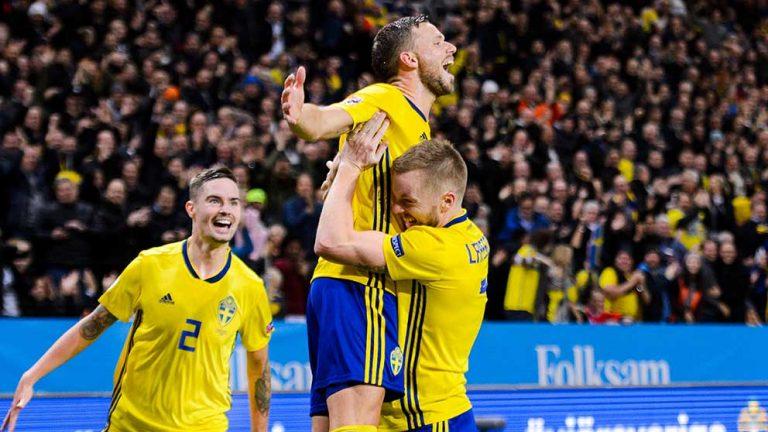 Claesson skadad när Sverige vann