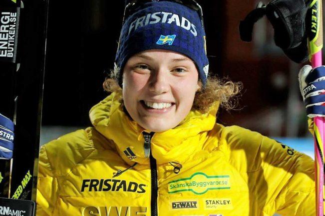 Bragdguldet till Hanna Öberg