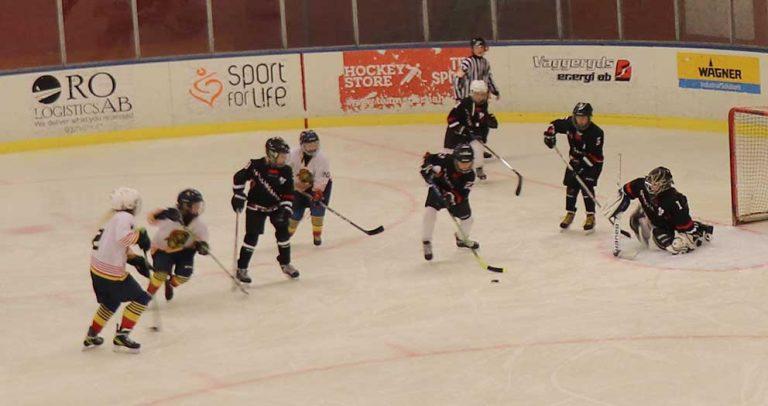 Bildspel och tv: 10-åringar i ishockeycup