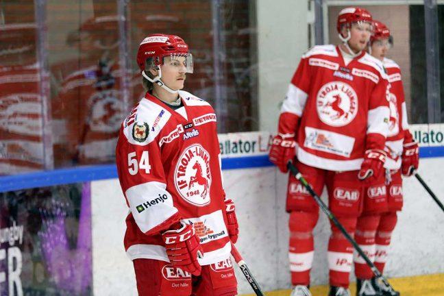 Edström spelade fram till segermålet för Troja