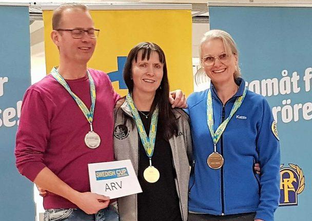 Två guld till Annika i Swedish Cup