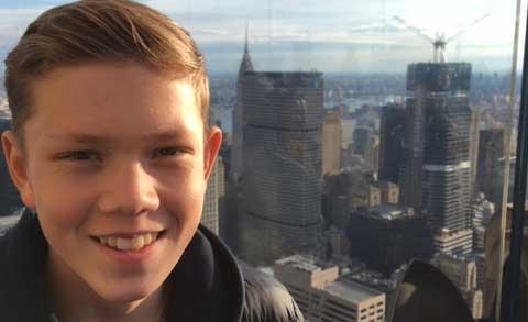 Emil Johansson 16 år