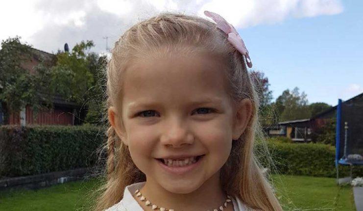 Hilda Hedlund 5 år