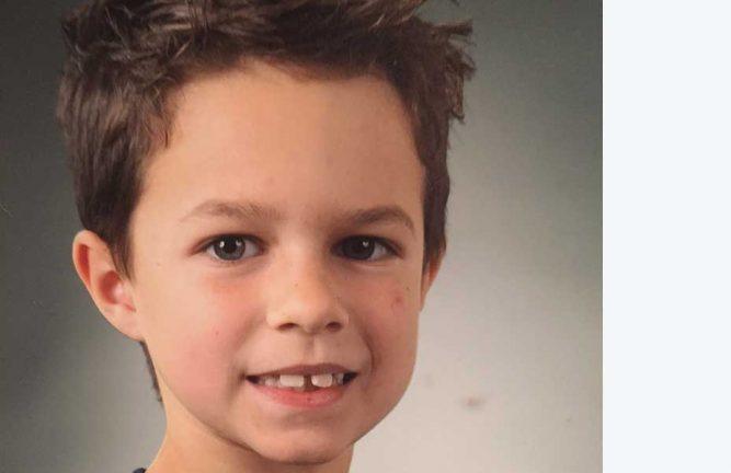 Oliwer Mårts 8 år