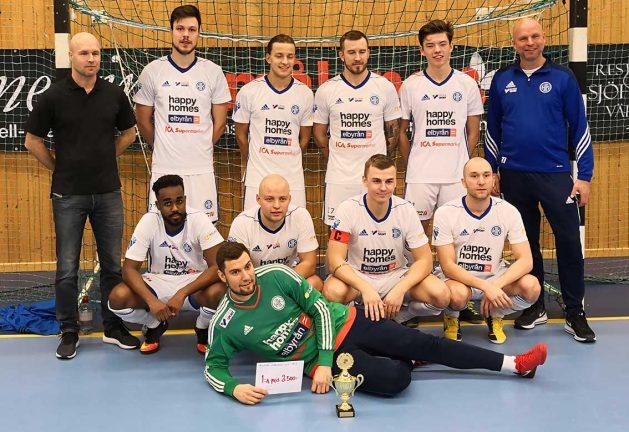 Fyra lokala lag i cup i Vrigstad