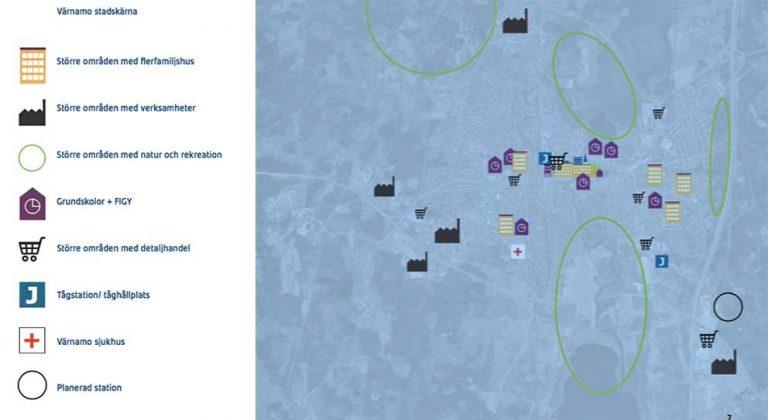 Värnamo kommun ska ha 40000 invånare år 2035