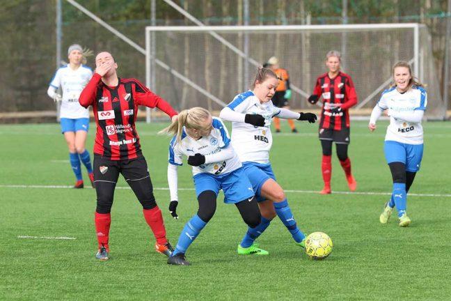 Bildspel: 0–1 för IFK-damerna