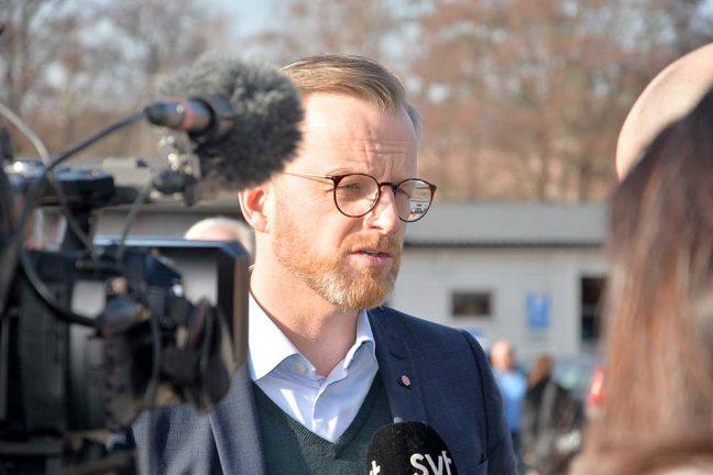 Ministerbesöket i Värnamo