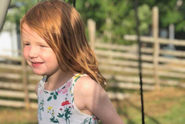 Dahlia Broström-Lindblad 4 år