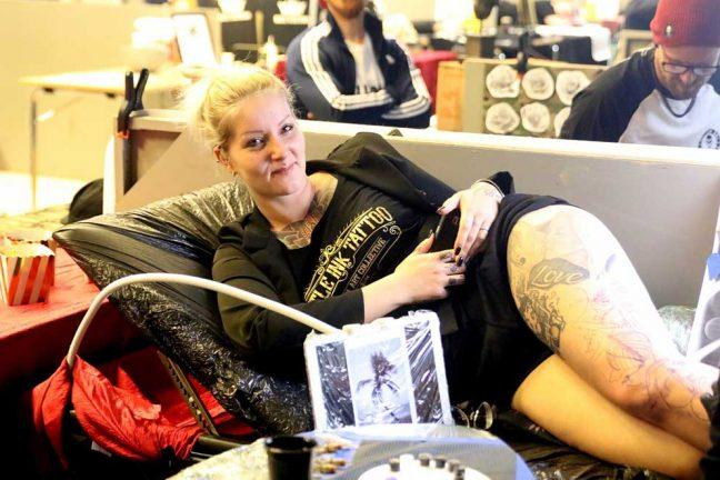 Stort intresse för tatueringsmässa