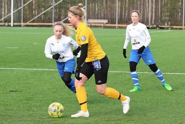 Bildspel: Förlust för IFK-tjejerna