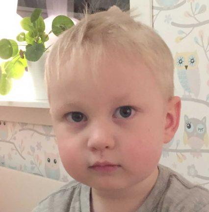 Melker Antonsson 3 år